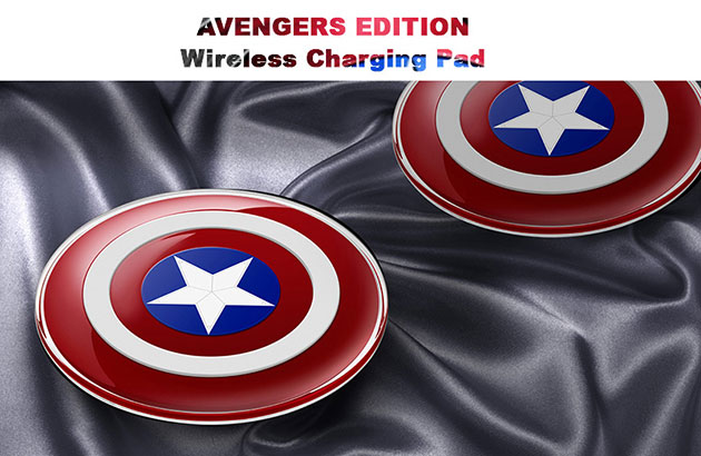 wireless charger สำหรับ iPhone 6 , 6s , 6 Plus , 6s Plus , Samsung , LG , HTC